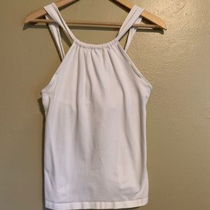 Athleta | White Tie Back Cami | Medium M